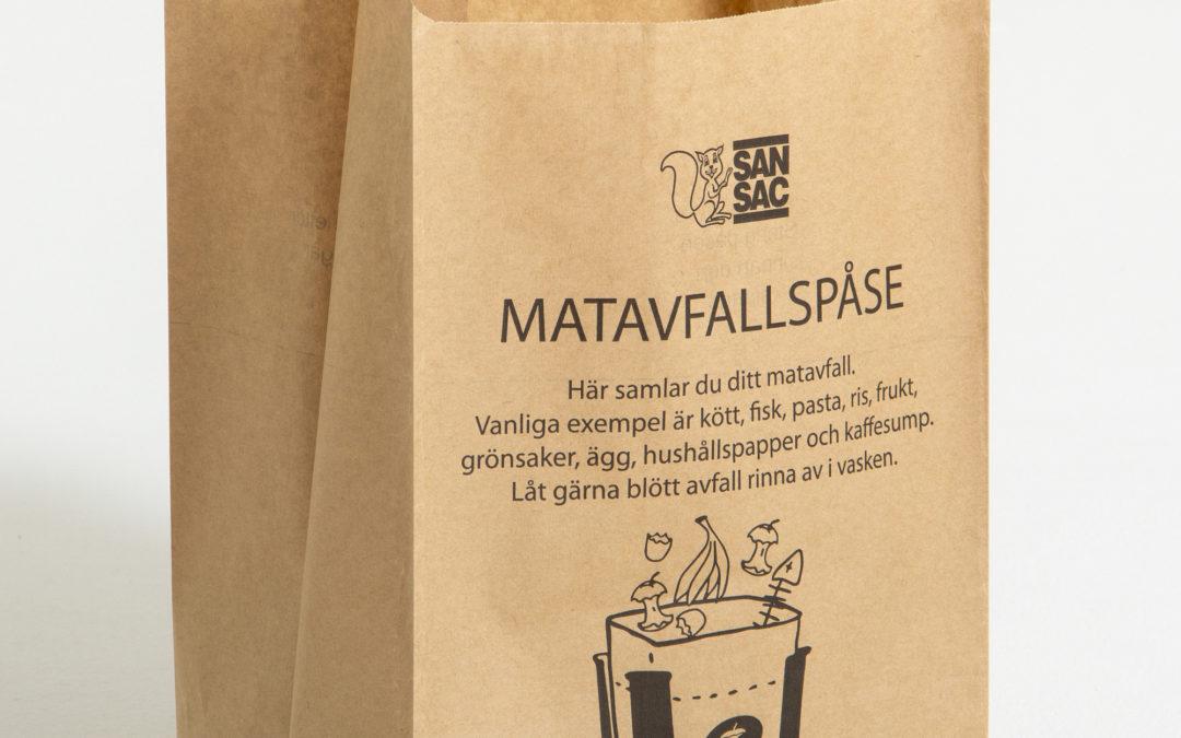 Nytt Småbjörksblad utdelat –nu återvinner vi matrester